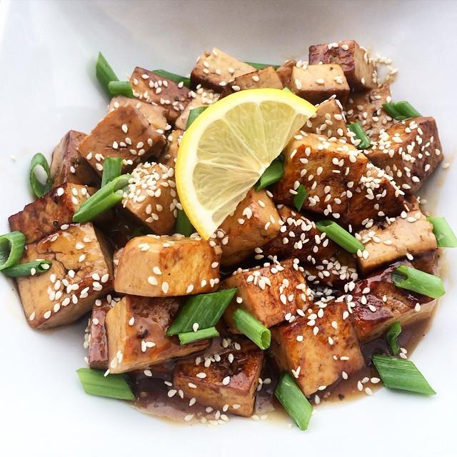 Tofu citron et érable  | Dodo la Grano - recettes végétaliennes, santé et simples