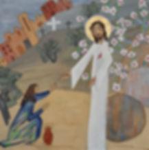 3-Le Ressuscité apparaît à Marie-Madelei