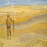 A travers le désert, une voix crie
