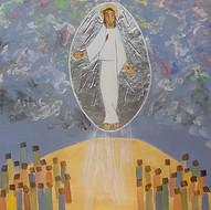 Le Christ ressuscité remonte au ciel