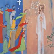 Le Ressuscité souffle sur les disciples