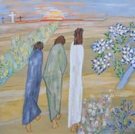 Le Ressuscité apparaît aux Pèlerins d'Emmaüs