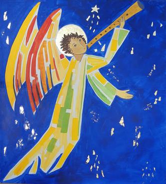 L'ange à la trompette retentissante