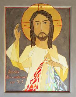 Miséricorde, Jésus, j'ai confiance en Toi