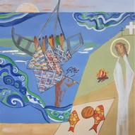 Au bord du lac de Tibériade, le Ressuscité leur dit « Venez manger »