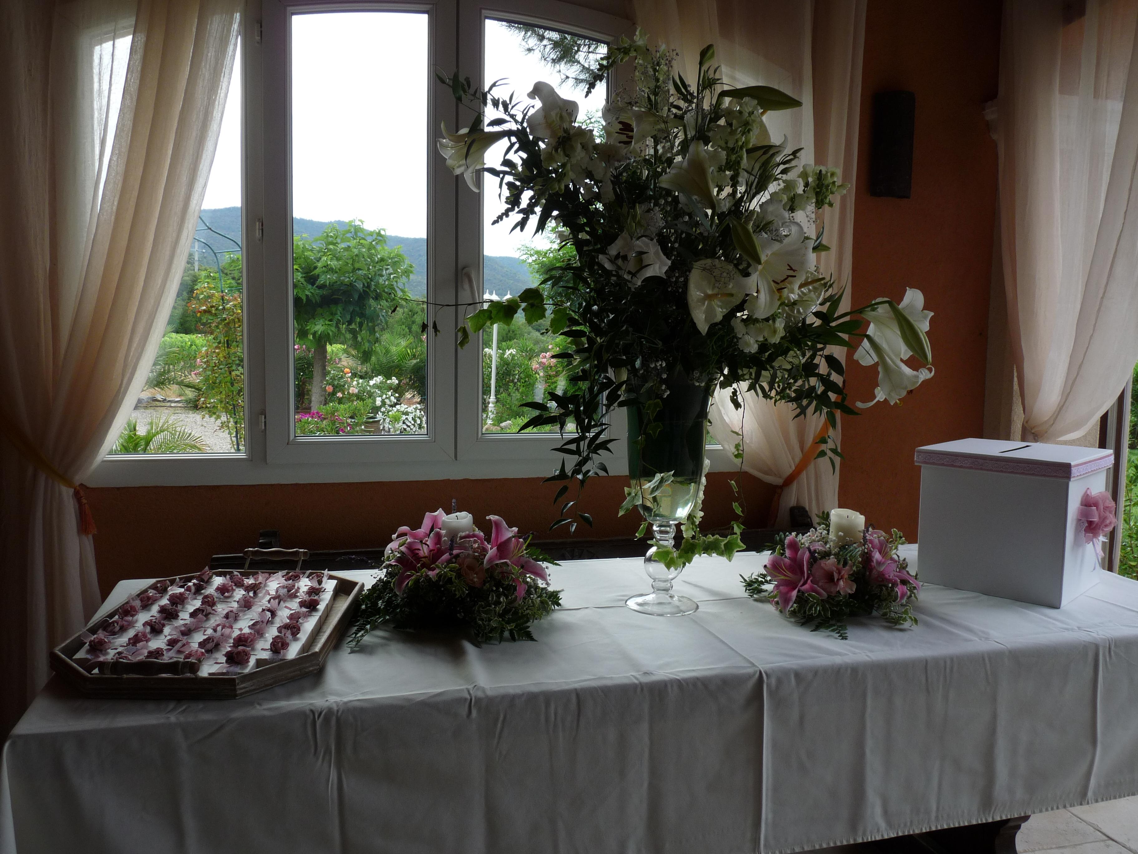 Amuse-gueules et bouquet