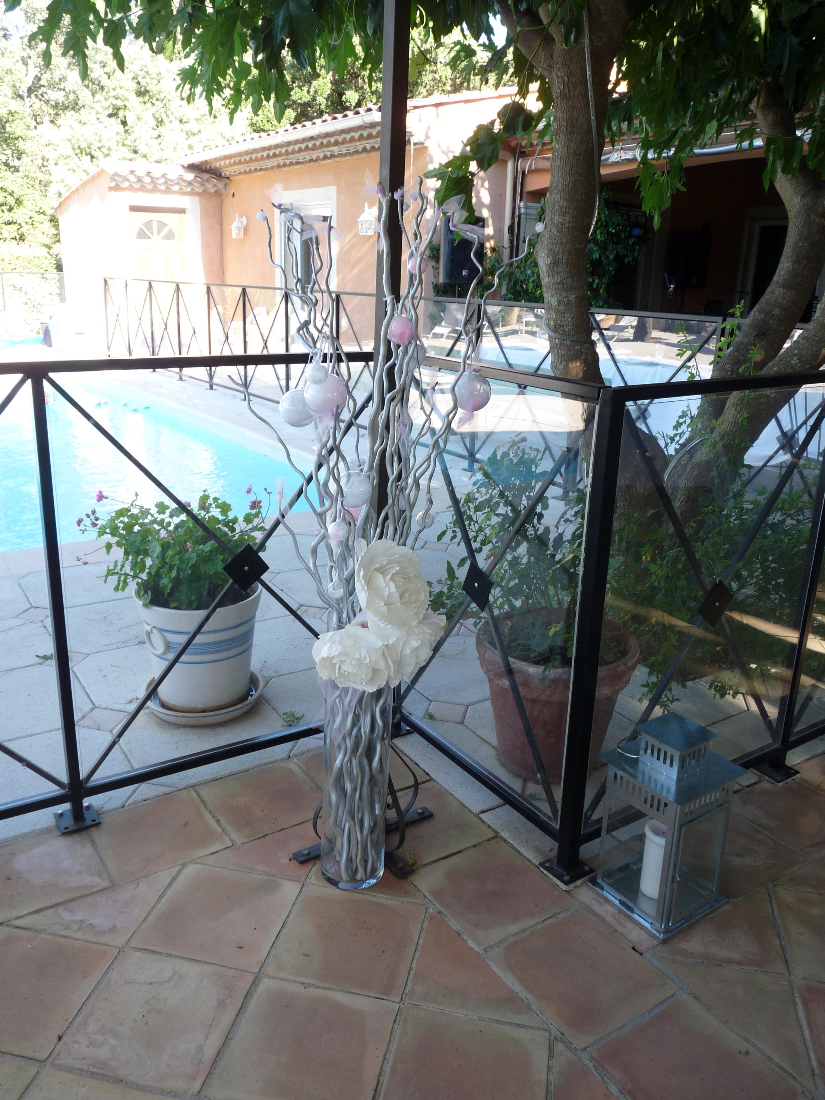 Décoration et piscine