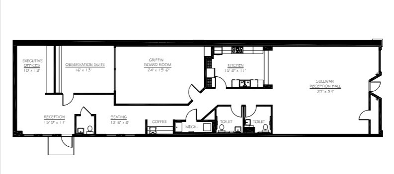 Event Cafe Floorplan