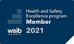 WSIB Safetly Excellence program member logo