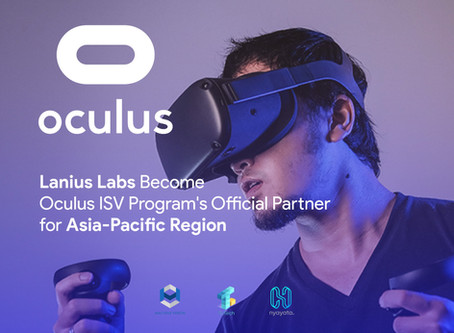 Lanius Lab Becomes Part of World-Leading VR Solution Company