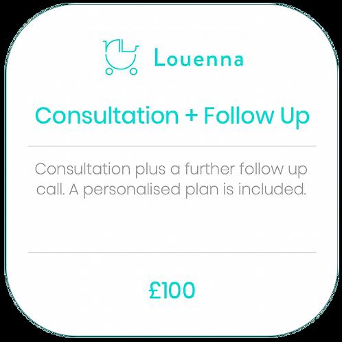 Consultation + Follow Up