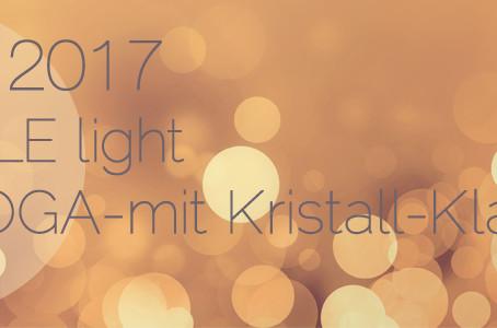 CANDLE LIGHT YIN YOGA - mit Kristall-Klangschalen