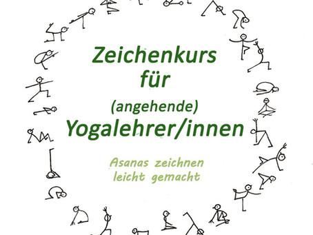 ONLINE 24.5.21 Asana-Zeichenkurs für (angehende) Yogalehrer/innen