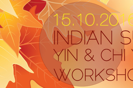 INDIAN SUMMER - Yin & Chi Yoga Session // Yoga Loft Waiblingen