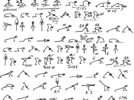 Asana-Zeichenkurs für Yogalehrer