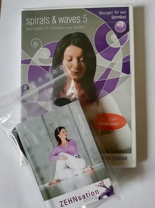Spiral & Waves 5 - Leichtigkeit für Schultern und Nacken (DVD) inkl. ZEHNsation