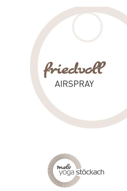 Airspray FRIEDVOLL - Raumduft 3x