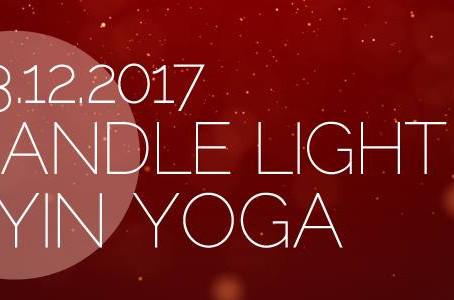 Candle Light Yin Yoga - mit Kristall- & Planetenklangschalen