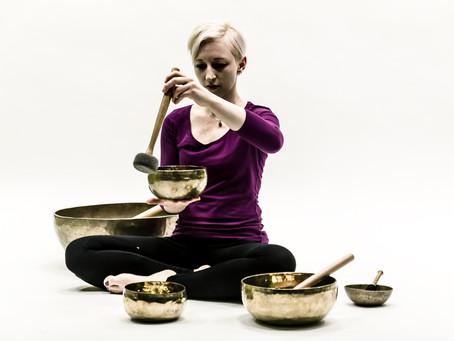 Nada Yin Yoga - mit Kristall- & Planetenklangschalen
