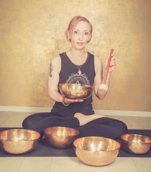 Nada Yin Yoga - mit Kristall- und Planetenklangschalen