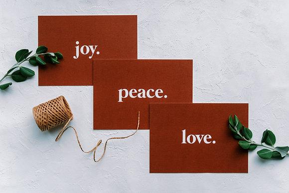 card set: Christmas Red