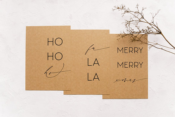 card set: Christmas Carols