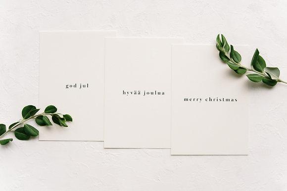 card set: Simple