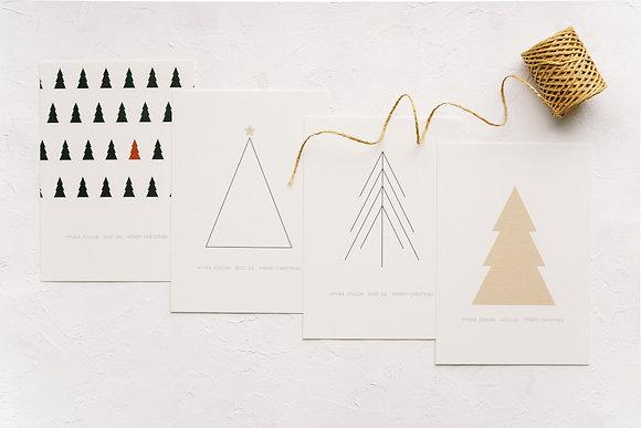 card set: Christmas Tree