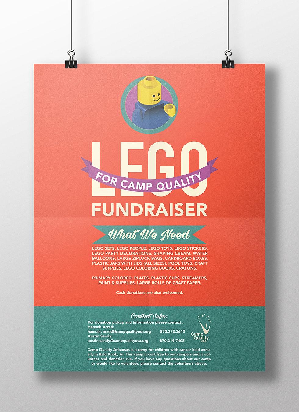 Poster design volunteer - Camp Quality Fundraiser