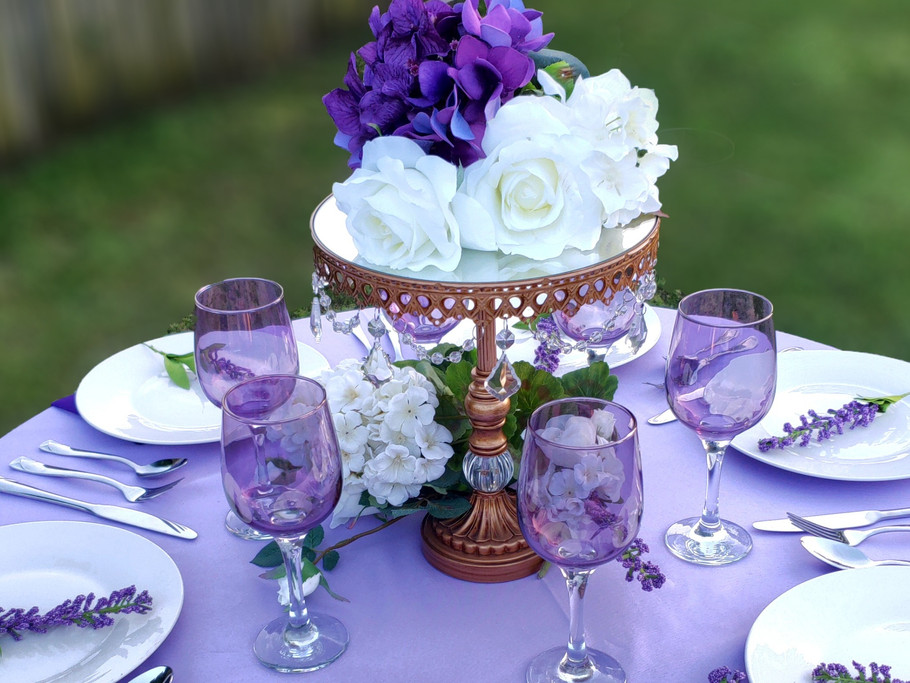 Purple Event Table