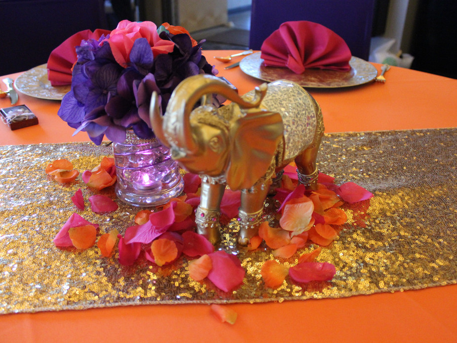 Moroccan Theme| Elephant Centerpiece