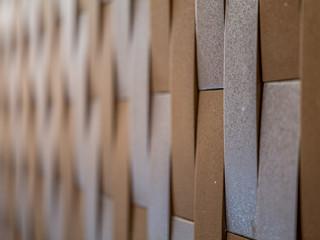 生活家徽建材|車庫牆面使用INAX日本特殊磚