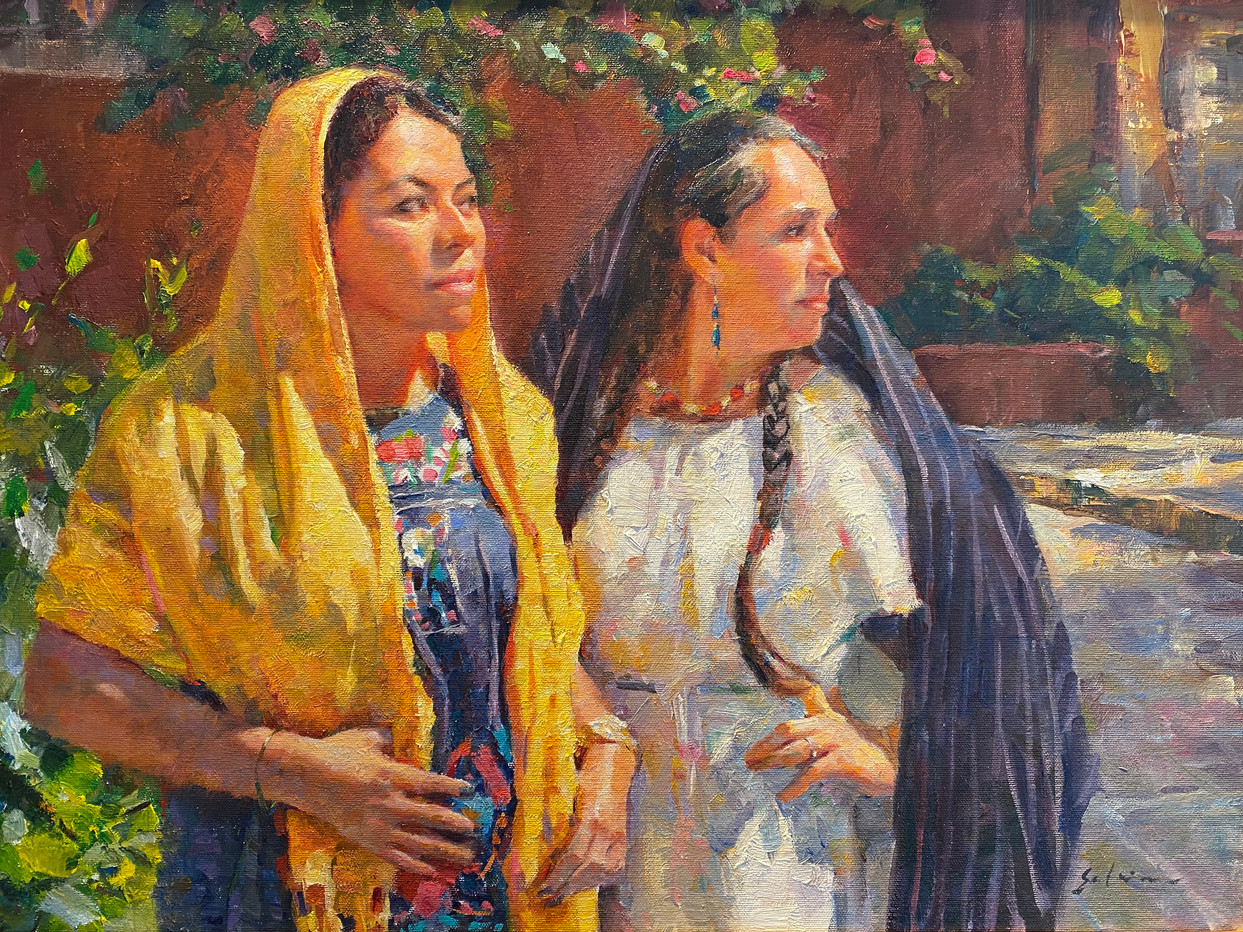 Women of Allende 18x24