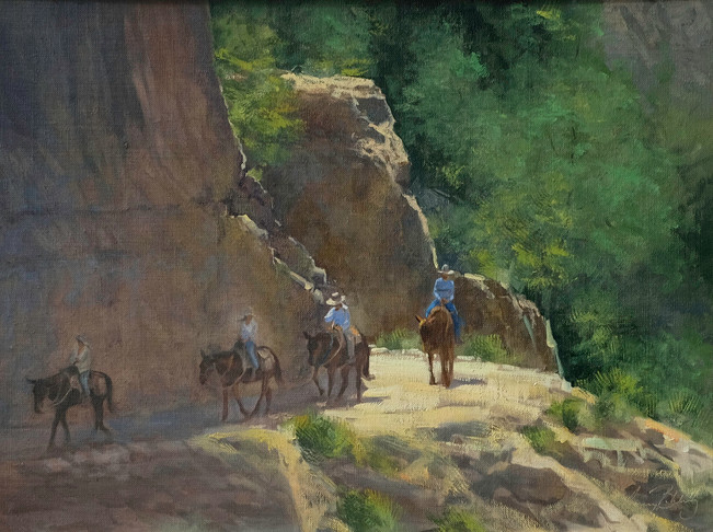 Riding Muleback