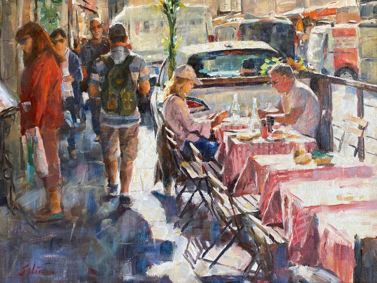 Florence Cafe 18x24