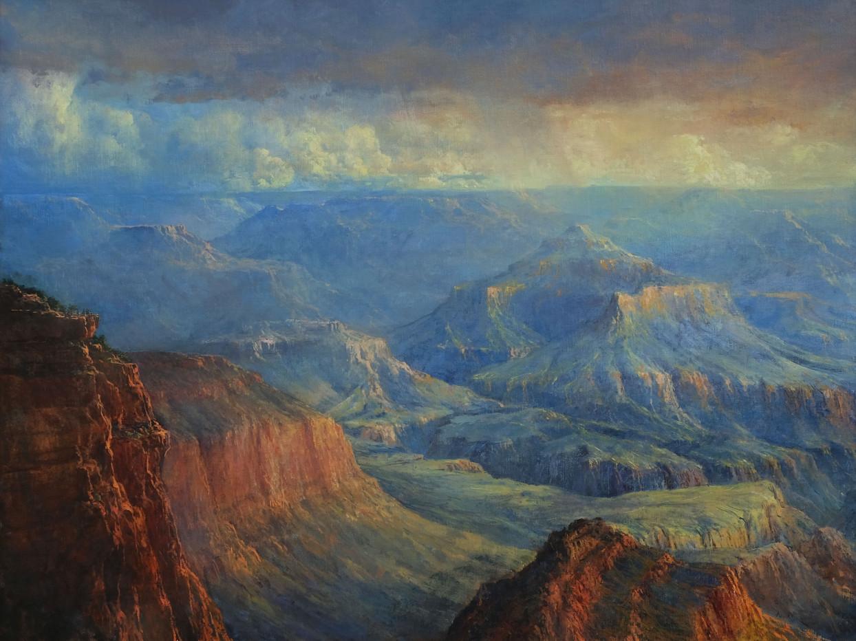 The Overlook 36 x 48