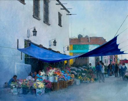 San Miguel Flower Market