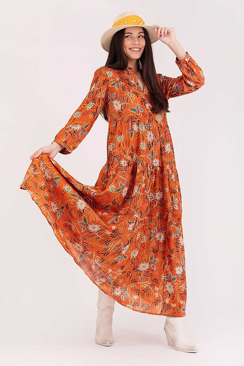 Long Dress Floral Print