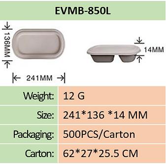 Meal Box 850ml Lid