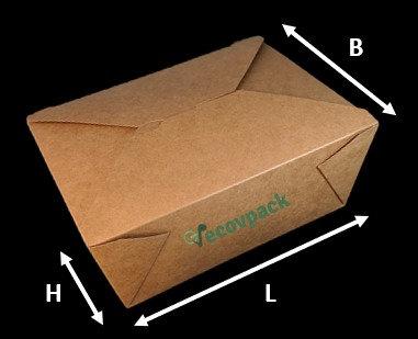 Kraft Takeaway Box
