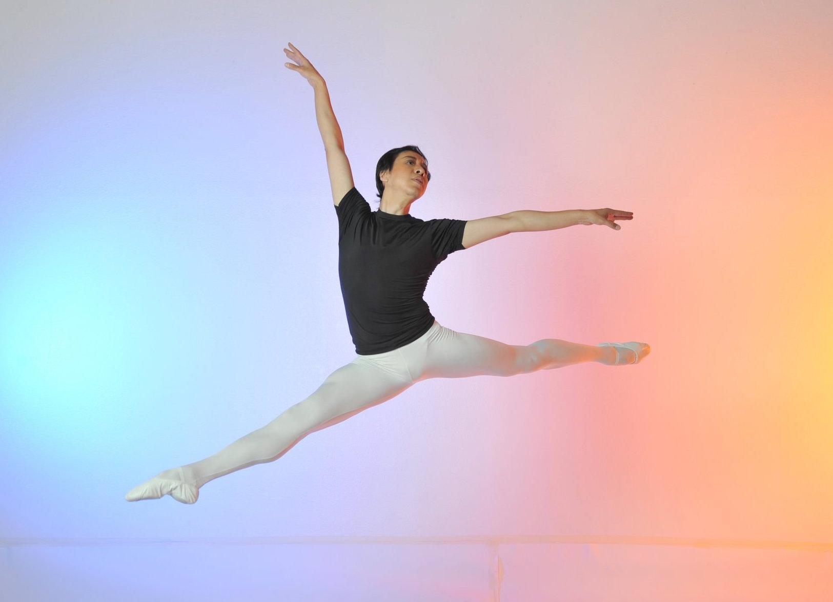 Yu Xin Ballet Master Class in San Jose