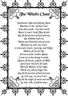 The Witch's Chant