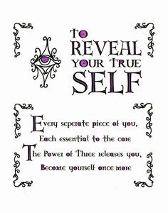 Reveal Your True Self