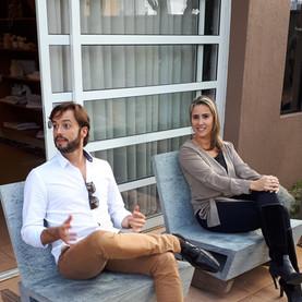 Bruno Viana e Ivana Seabra