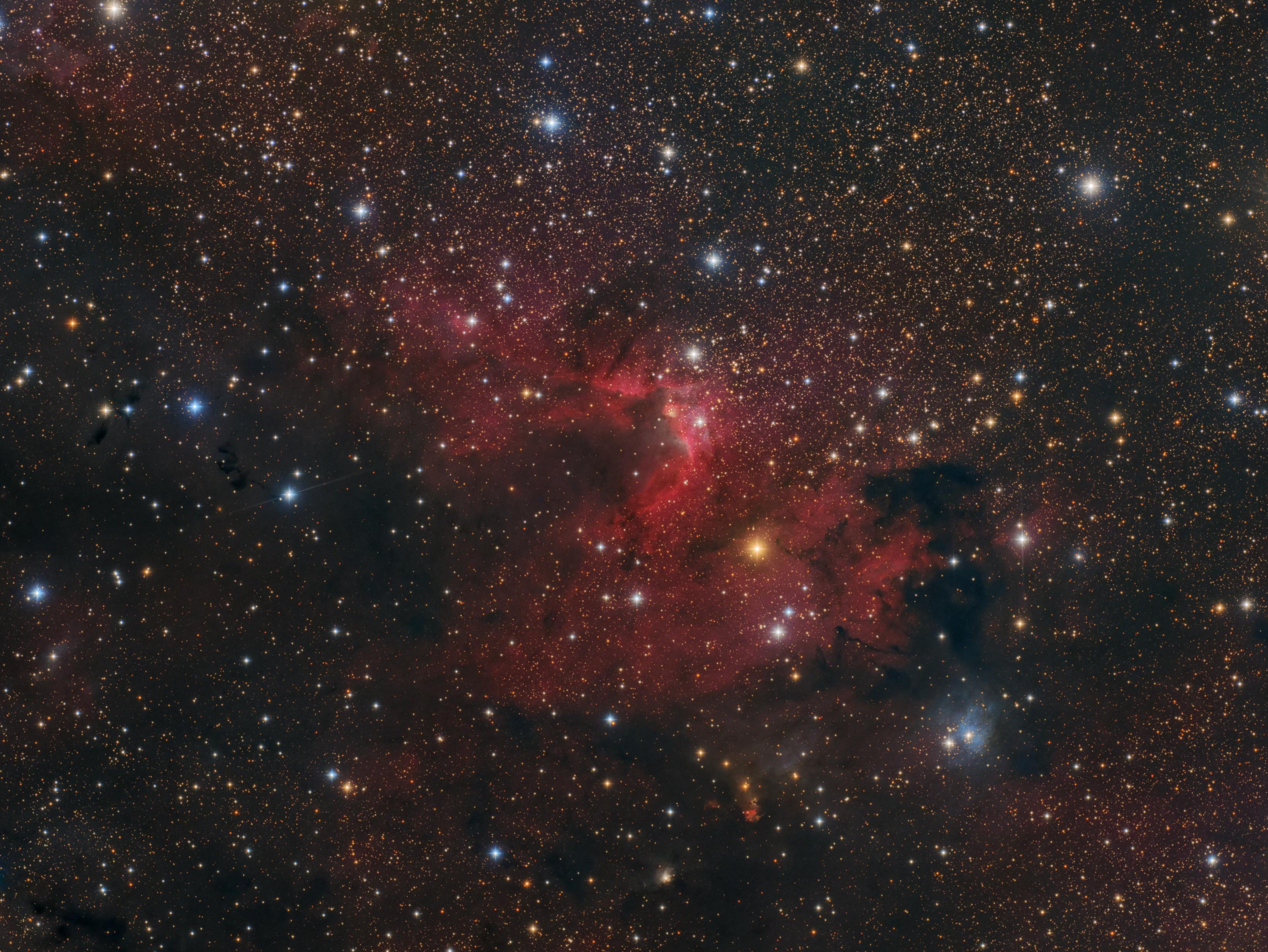 The Cave Nebula