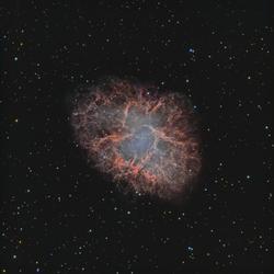Crab Nebula True Color