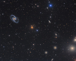 NGC 1365 and friends