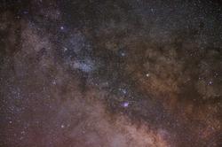 Milky Way untracked 50mm