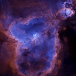 Starless Heart Nebula