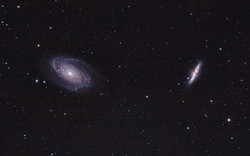 Bode's and the Cigar Galaxies